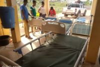 Ho West DCE donates beds to health facilities