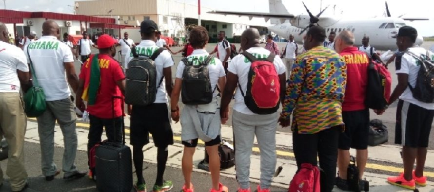 Black Stars depart Accra today for AFCON qualifier against South Africa