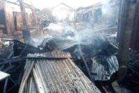Fire guts Mankessim market, destroy over 20 containers