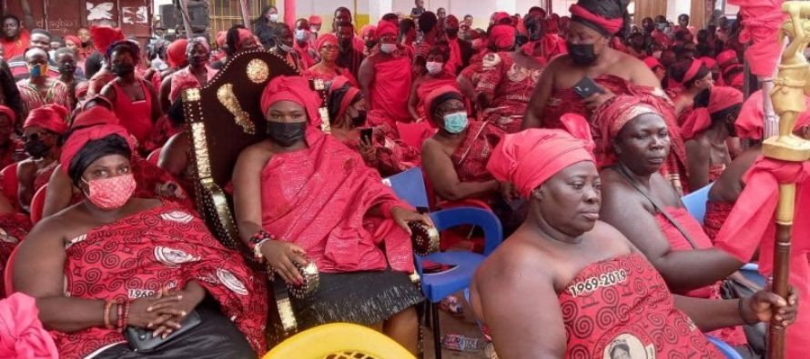 Mamaga Dewotornyo laid to rest in Hohoe