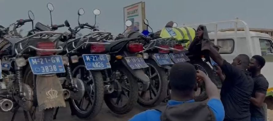 Police impounds 394 motorbikes in recent operation