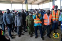 Oti compost plant 80% done, RCC to be completed in December
